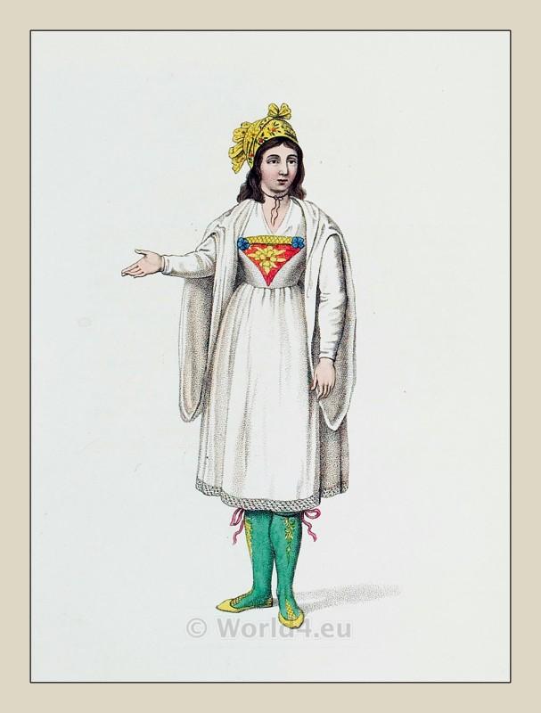Ottoman Lady Fashion