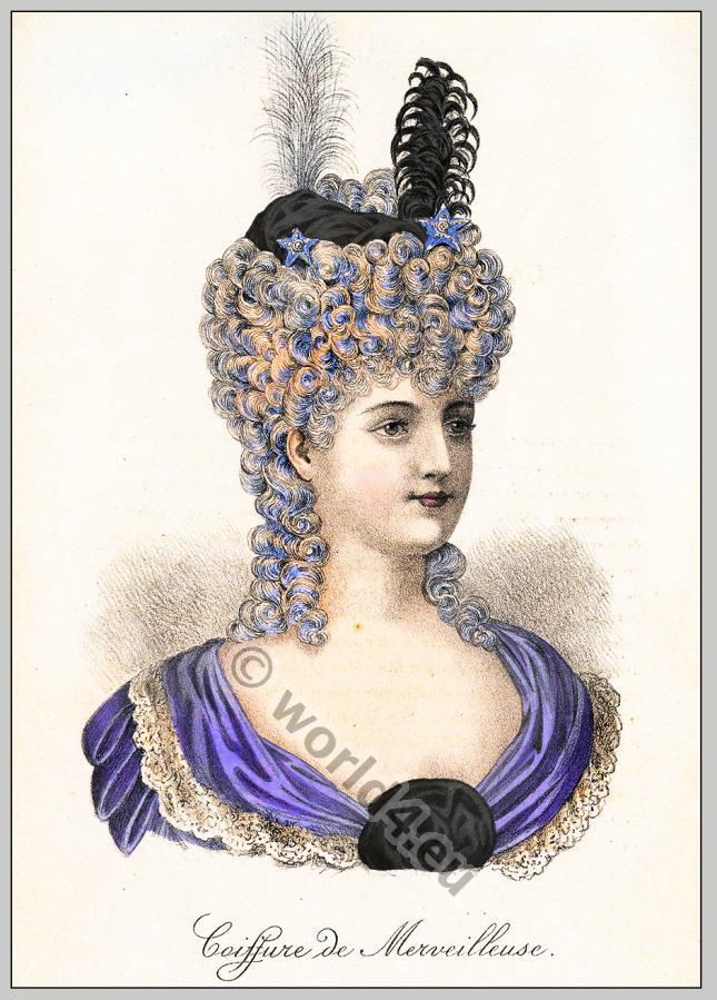 История причёсок во франции