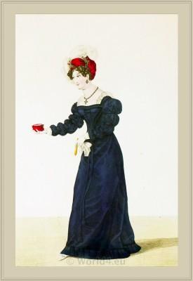 Merveilleuses. Neoclassical fashion. Fashion history. France Revolution.