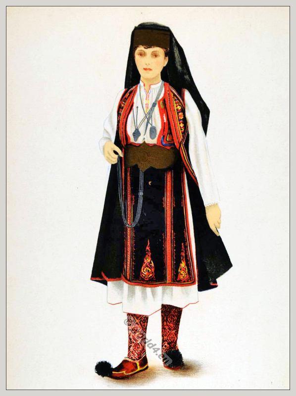 romanian woman from macedonia 1937