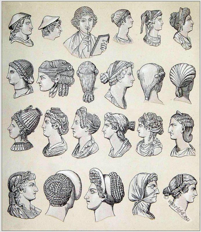 Astonishing Ancient Roman Hairstyles Of Woman And Men Costume History Short Hairstyles Gunalazisus