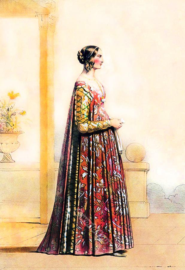 italian th th century fashion history costume history italian renaissance 14th century