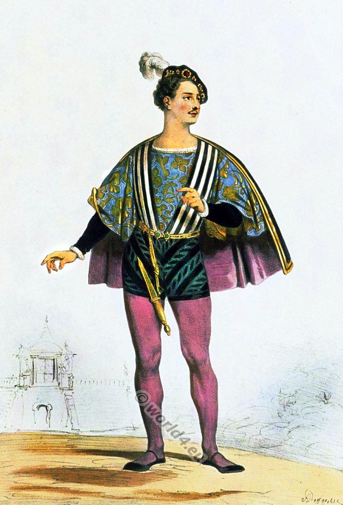 Italian nobleman in the 16th century. Renaissance era.  sc 1 st  Costume History & Italian nobleman in the 16th century. Renaissance era. | Costume History