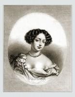 Marie Angélique de Scorailles. 17th century fashion. Baroque hairstyle.