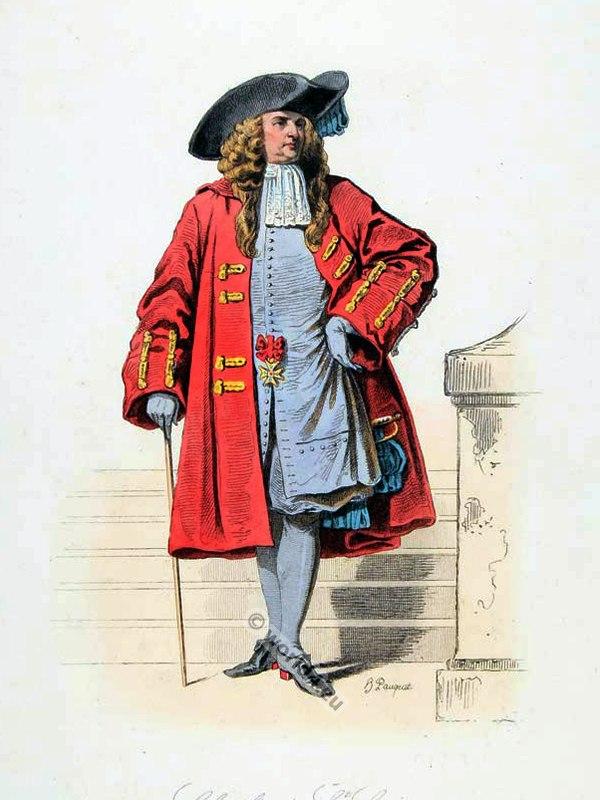 Reign Louis XIV. French fashion history.  71c158651d6
