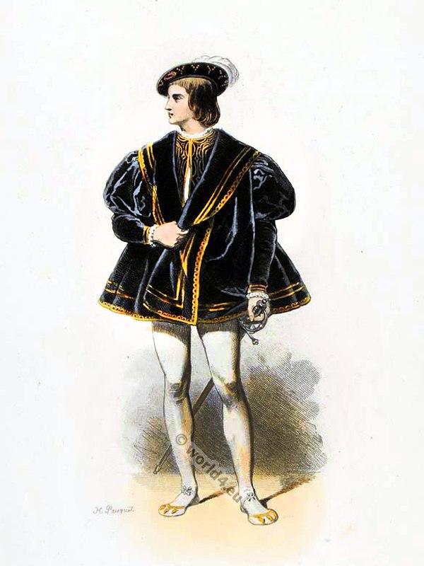 Francis I 1515 To 1545 Renaissance Fashion