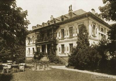 Palais Stourdza, Classicism, Architecture, Baden-Baden