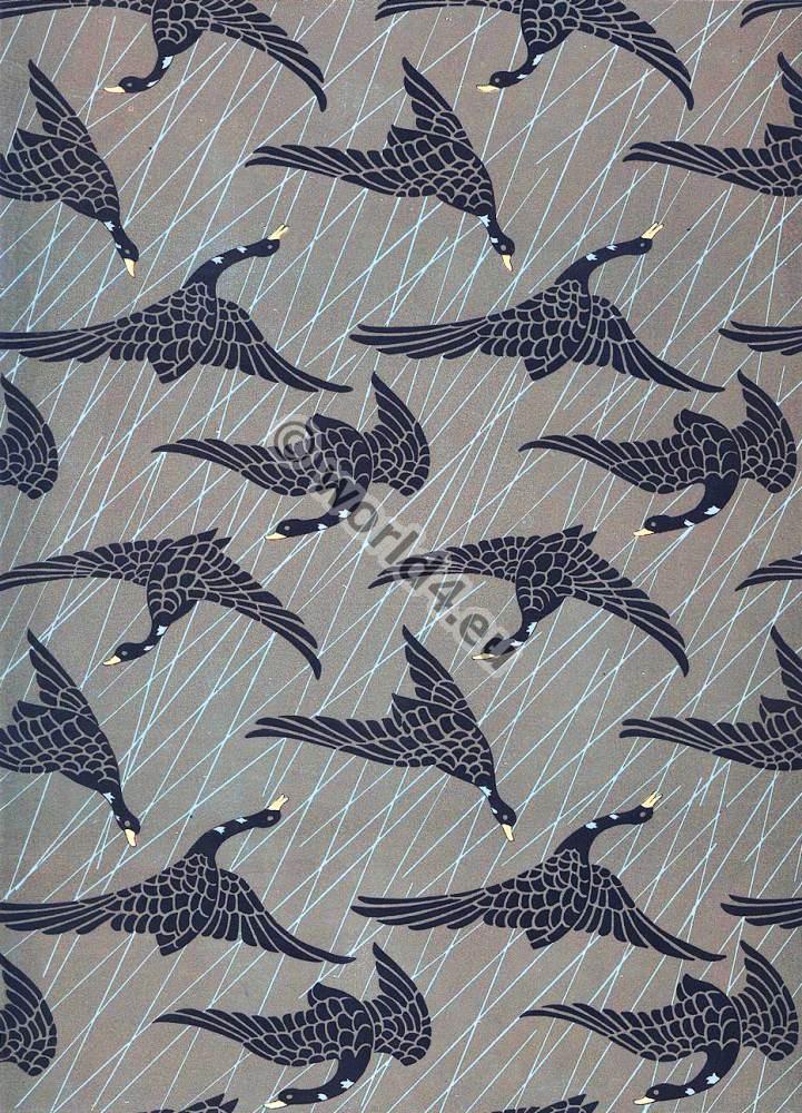 Japanese Design Fabric Japanese Fabrics 1870