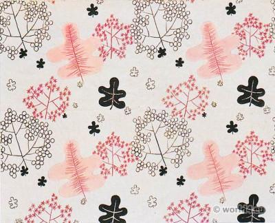 Designs for furnishing fabrics 1920s. Lilly Jacker-Nettel.