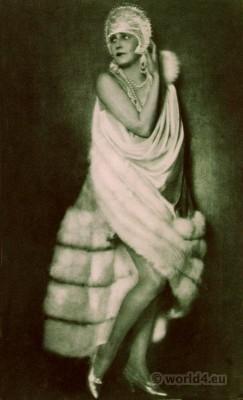 Maria Corda. Art deco glamour costume. Silent movie star 1920s. Mária Antónia Farkas. Maria Korda