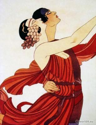 Clotilde von Derp and Alexander Sakharoff by George Barbier