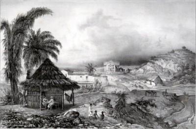 Papantla. Mexican town. Topography. Carl Nebel. Voladores de Papantla.