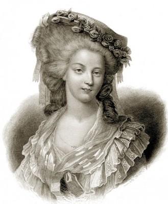 Princess Maria Teresa of Savoy-Carignan, princesse de Lamballe. French nobility