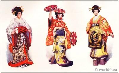 Sada Yacco. Katsugari. Geisha Knight