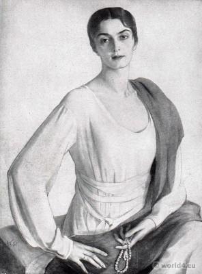 Mary, Princess Eristavi. Georgian aristocrat, fashion icon, Model of Coco Chanel