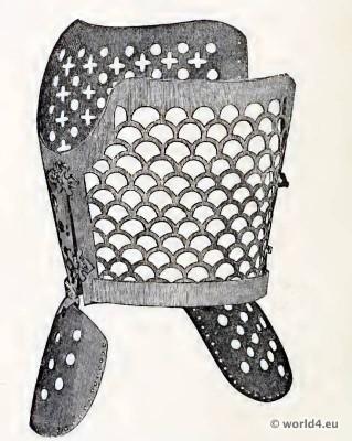 Queen Elisabeth I., Corset of Steel. 16th century underwear. Medieval Bodice. Renaissance fashion.
