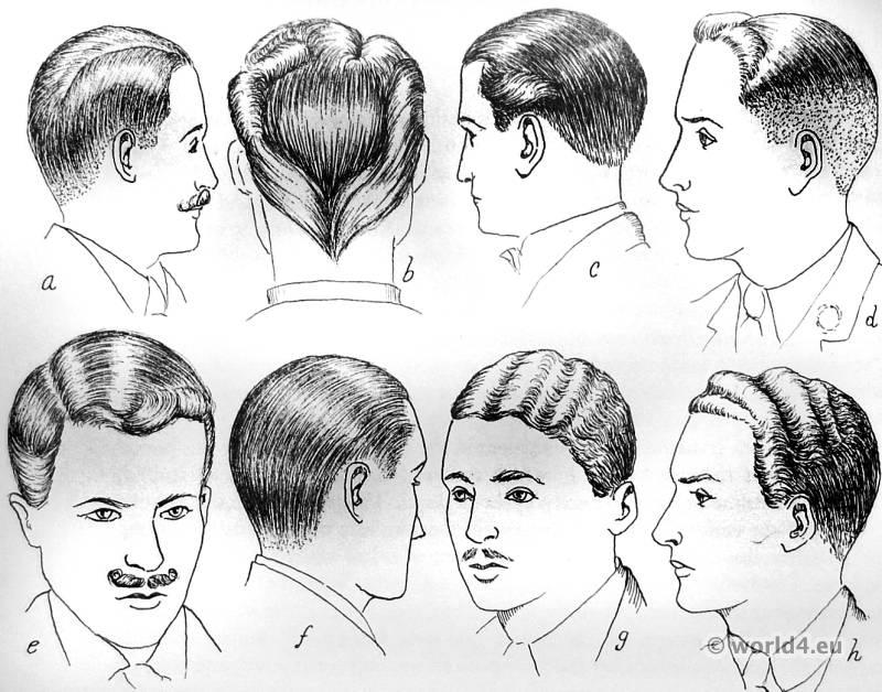 Super English Hair Styles Of The 1930S Costume History Short Hairstyles Gunalazisus
