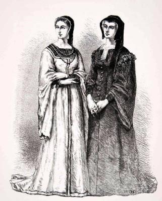 Louise of Savoy, Marguerite de Valois, Renaissance, fashion history, la Reine Margot.