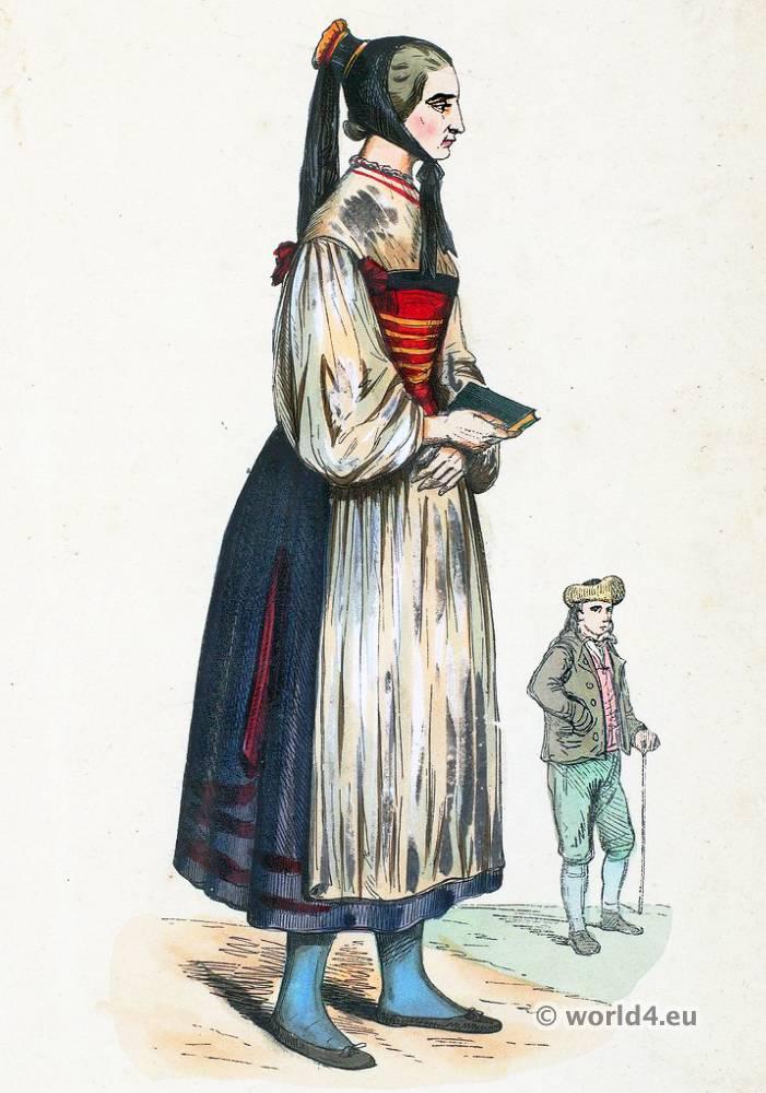 Traditional German Folk Costumes Costume History
