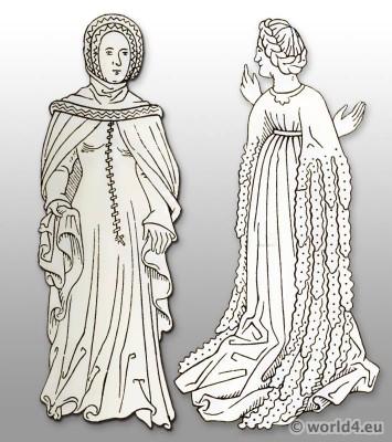 Costume History 15th century
