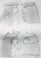 Sculpture: Types & portraits (ladies of various periods).