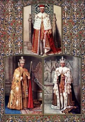 England Kings Coronation Robes