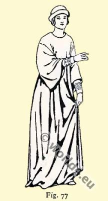 Byzantine Costume History. Shaped dalmatica
