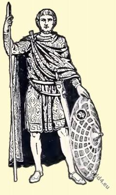 Byzantine Costume History. Byzantine noble costume.