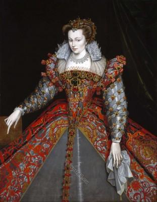 Louise de Lorraine. Renaissance Queen. 16th century fashion. Henry III.