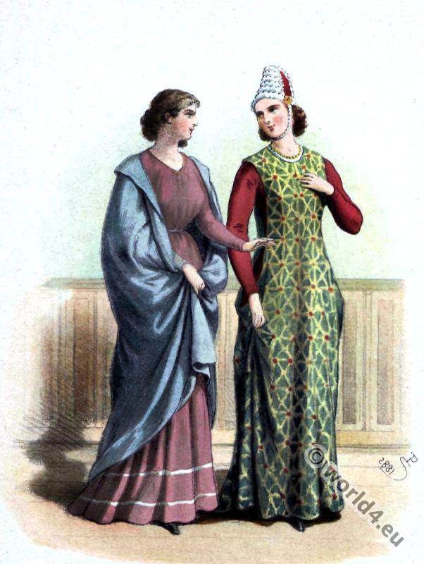 medieval spain clothing 13th century fashion