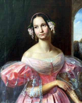 Hélène duchesse d'Orléans. Romantic era.