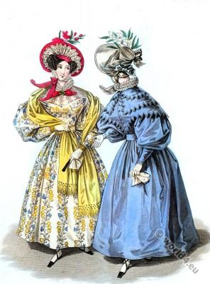 History of Fashion and Dress The Romantic Era