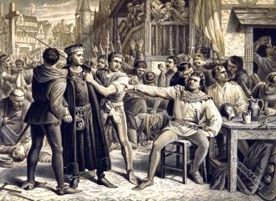 Jack Cade. Rebellion. England history.