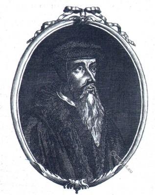 John Calvin. Protestant Reformation.