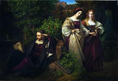 Torquato Tasso, Johann Wolfgang von Goethe, German Enlightenment. Romanticism era