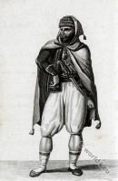Albanian soldier costume. Reis Barbaresque. Reis Efendi. Traditional Albania costumes.