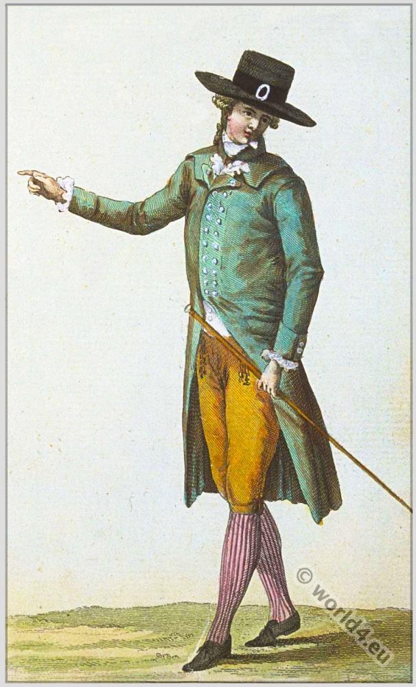 Homme en chenille cabinet des modes 1785 costume history for Portent relic