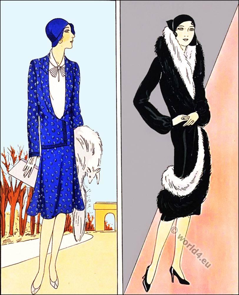 Les creations parisiennes la mode est un art costume for Art deco trend