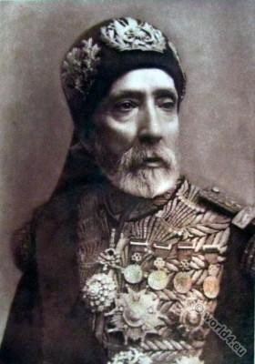 Mohamed El Habib Pacha Bey. Tunesian ruler. Dynasty of Husseinites