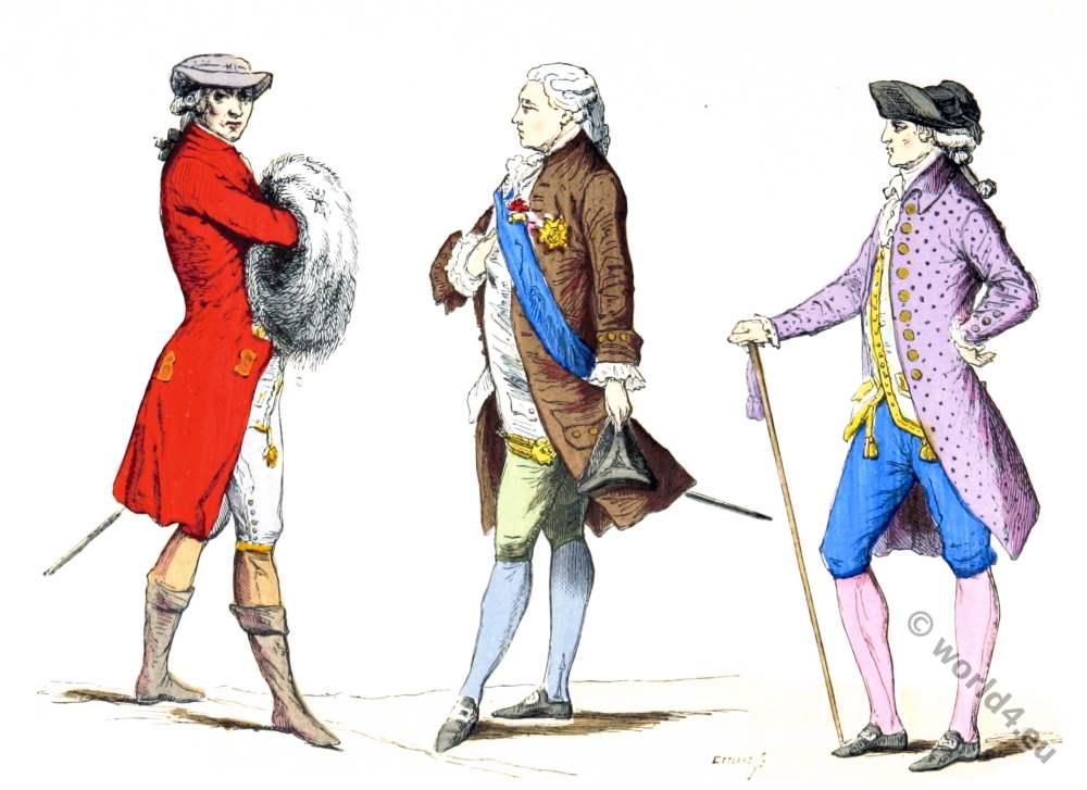 Paris 18th century nobility fashion.  sc 1 st  Costume History & Paris à travers les siècles Archive | Costume History