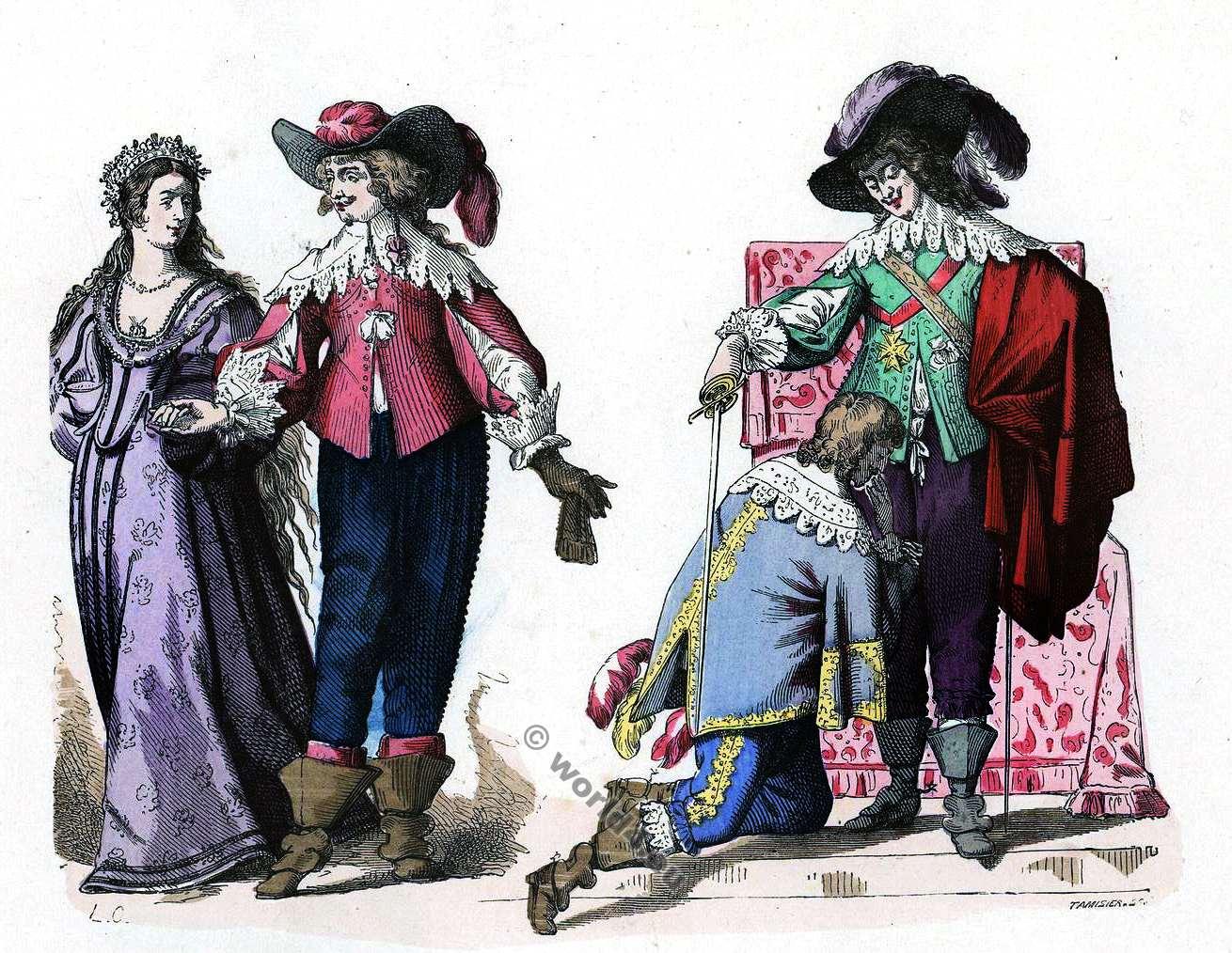 French fashion 17th century france