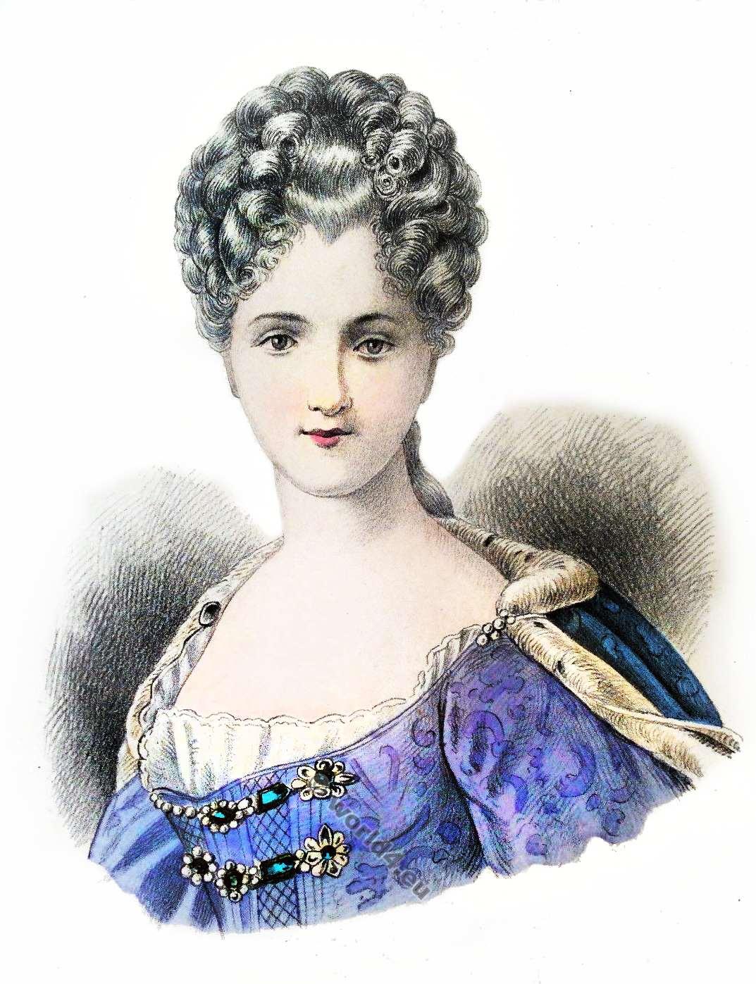 Album Of Historical Hairstyles Album De Coiffures Histories Par E