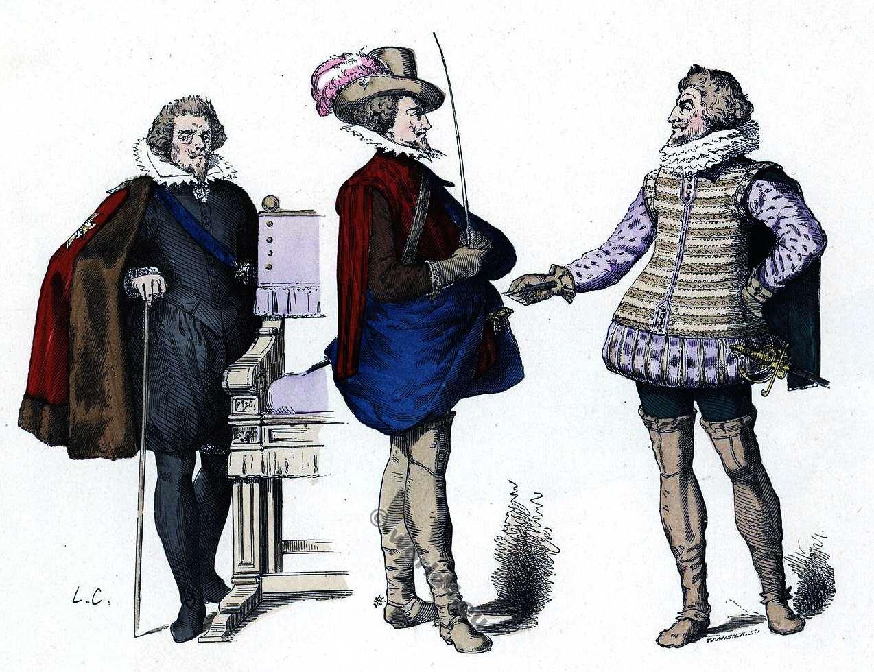 17th century fashion in france 2