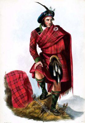 Na Druimainich. The Clan Drummond.