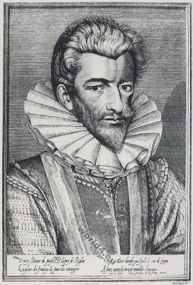 Henri de Lorraine, Du de Guise. Le Balafré. 16th century. Renaissance fashion history. French nobility. Huguenot war.