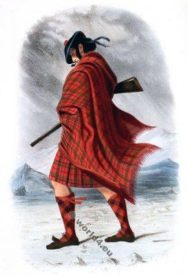 Mac Nachtan. Siol Neachdann, or Mac Nachtans. Clan. Tartan. Scotland. Clans of the Scottish Highlands.