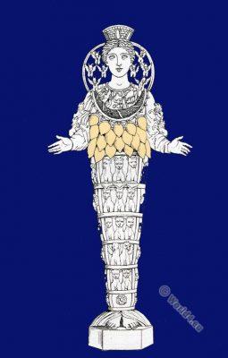 Diana Efesina. Artemis of Ephesus. Olympian deity. Amazon queen Otrera