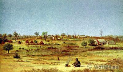 Tati Settlement. Africa. Botswana. South Africa.