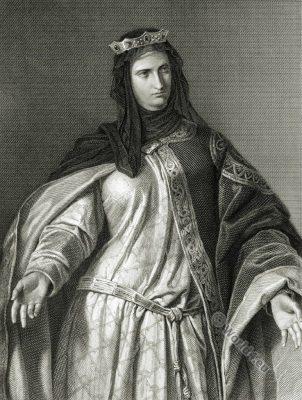 Donna Isabella. The Bride of Messina. Friedrich Schiller. German Romantic.