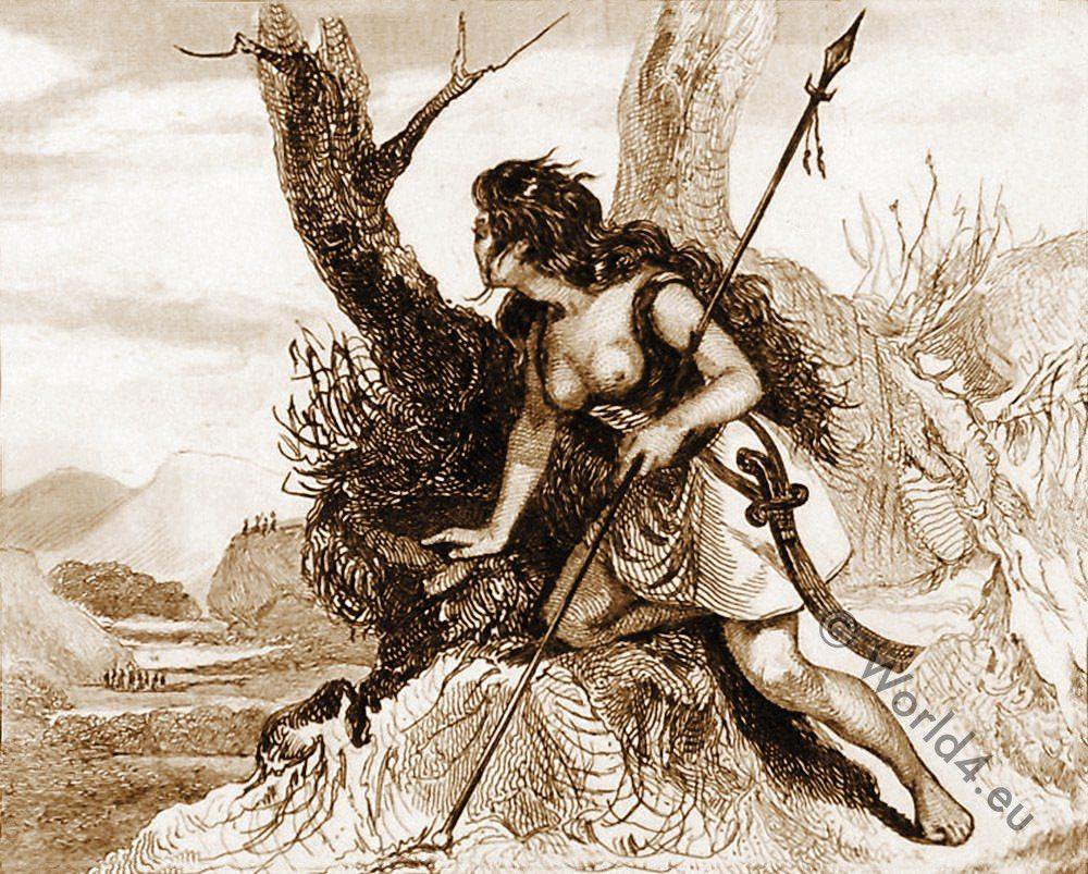Ancient female warrior, Pict, celt, England